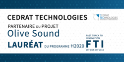 Cedrat Technologies partner of the project OLIVE-SOUND